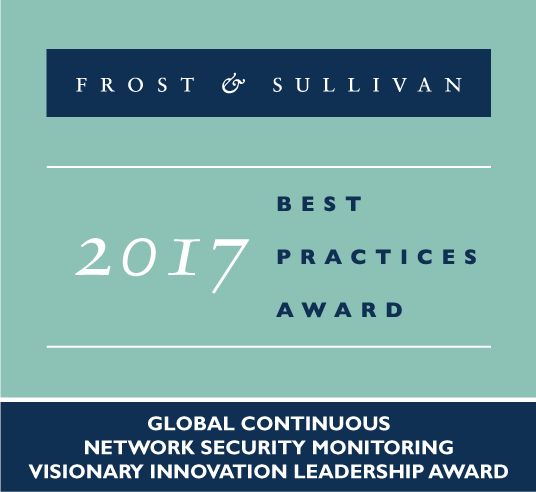 Frost & Sullivan 2017 Best Practices Award