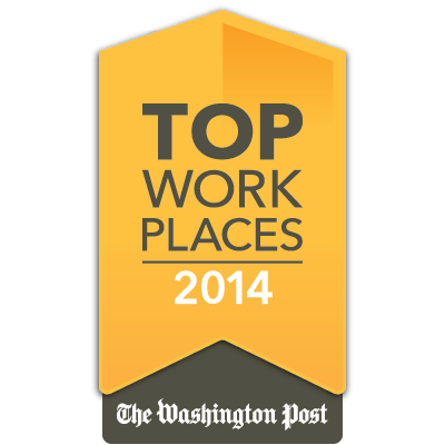 Washington Post Top Places to Work 2014